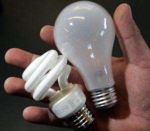 Замена ламп